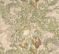 Alphonse Mucha~Lady with daisy (Femme ˆ Marguerite