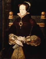 Anthonis Mor~Portrait of Queen Mary I