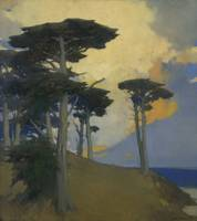 Arthur Frank Mathews~Monterey Cypress