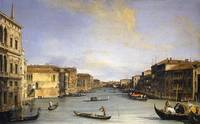 Canaletto~Grand Canal from the Palazzo Balbi