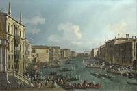 Canaletto ~A Regatta on the Grand Canal