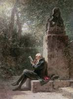 Carl Spitzweg~The Philosopher (The Reader In The P