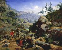 Charles Christian Nahl~Miners in the Sierras