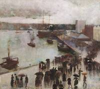 Charles Conder~Departure of the Orient, Circular Q