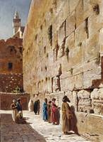 Charles Robertson~At The Wailing Wall