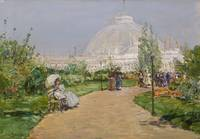 Childe Hassam~Horticulture Building, World's Colum
