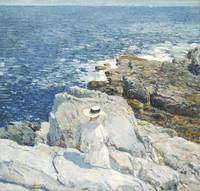 Childe Hassam~The South Ledges, Appledore