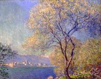 Claude Monet~Antibes Seen from La Salis