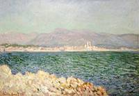 Claude Monet~Golfe D'Antibes