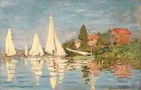 Claude Monet~Regatta at Argenteuil