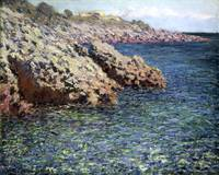 Claude Monet~The Mediterranean (Cap d'Antibes)