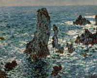 Claude Monet~The Rocks at Belle-Ile