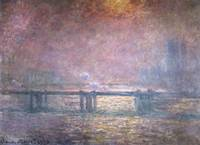 Claude Monet~The Thames at Charing Cross