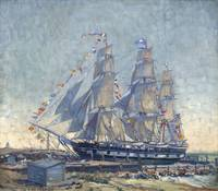 Clifford Warren Ashley~Ship CHARLES W  MORGAN at R