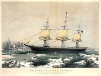 Currier & Ives~Clipper Ship Red Jacket