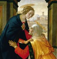 Domenico Ghirlandaio~The Visitation