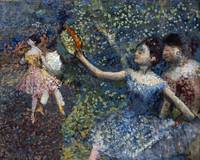 Edgar Degas~Dancer with a Tambourine
