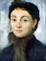 Edgar Degas~Portrait of Josephine Gaujelin