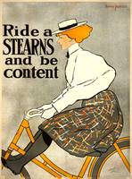 Edward Penfield~Ride a Stearns and Be Content