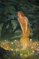 Edward Robert Hughes~Midsummer Eve