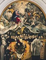 El Greco~The Burial of Count Orgaz, from a Legend