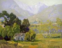 Elmer Wachtel~Canyon Near Ojai