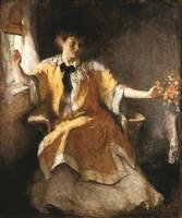 Frank Weston Benson~Young Girl by a Window