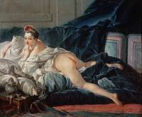 François Boucher~The Odalisque