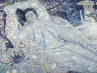 Frederick Carl Frieseke~The Hammock