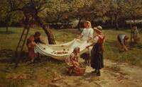 Frederick Morgan~The Apple Gatherers