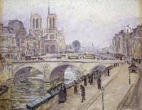 Fritz Westendorp~View of Notre Dame, Paris