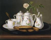 George Forster~Still Life of Porcelain and Biscuit