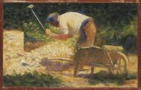 Georges Seurat~The Stone Breaker