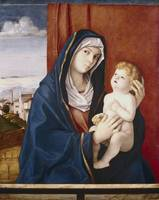 Giovanni Bellini~Madonna and Child
