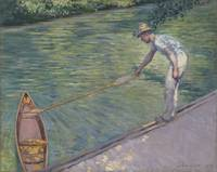Gustave Caillebotte~A Man Docking His Skiff