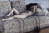 Gustave Caillebotte~Nude on a Couch