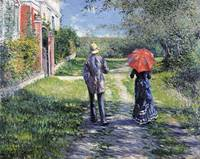 Gustave Caillebotte~The Path Uphill