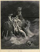 Gustave Doré~The Deluge or Noah's Ark