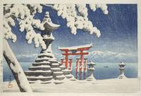 Hasui Kawase~Miyajima Shrine in Winter (Snow at It