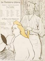Henri de Toulouse-Lautrec~Program for Le Théâtre L