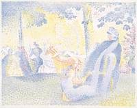 Henri Edmond Cross~On the Champs-Élysées