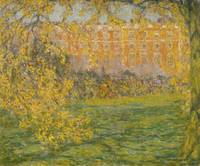 Henri Le Sidaner~Autumn, Hampton Court