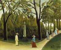 Henri Rousseau~The Monument to Chopin in the Luxem