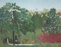 Henri Rousseau~The Waterfall