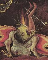 Hieronymus Bosch~The Last Judgement, detail of a m