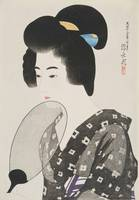 Itō Shinsui~Hairstyle of Married Woman (Marumage)