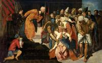 Jacopo Tintoretto~Esther before Ahasuerus