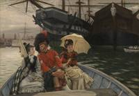 James Tissot~Portsmouth Dockyard
