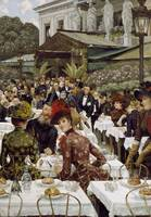 James Tissot~The Artists' Wives, 1885