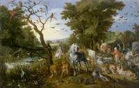 Jan Brueghel the Elder~The Entry of the Animals in